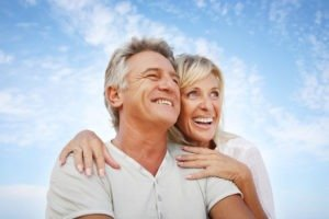 Couple experiencing a happier life together