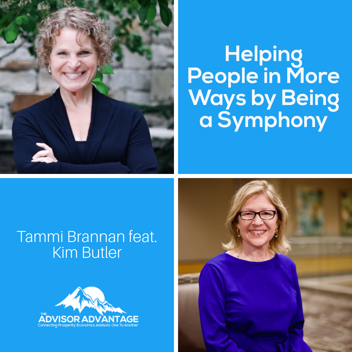 Helping People in More Ways by Being a Symphony – Episode 241